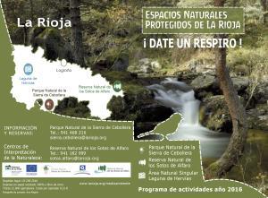 Los tres Espacios Naturales Protegidos de La Rioja ofrecerán este año 195 actividades gratuitas para conocer y disfrutar de la naturaleza