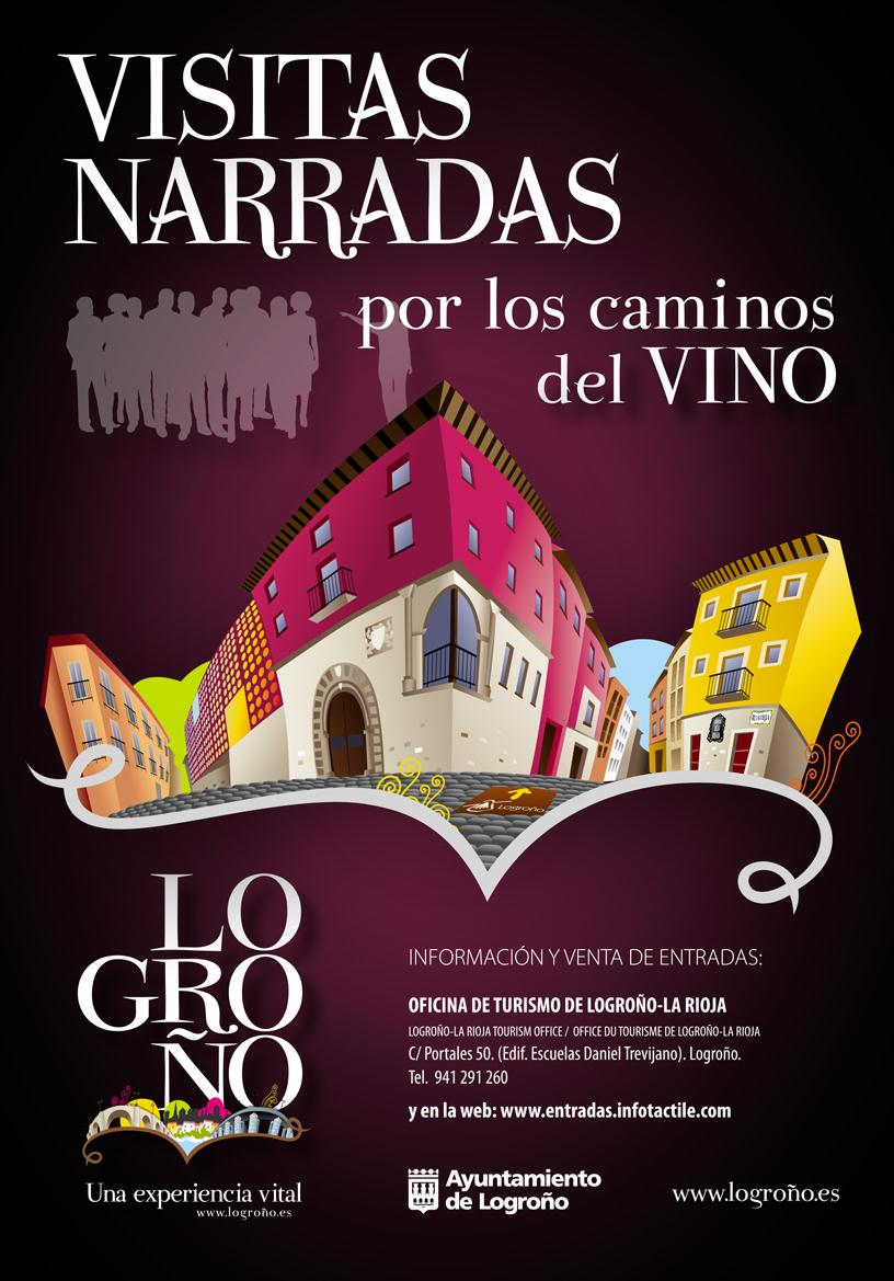 Visitas narradas por los caminos del vino de logro o la for Oficina correos logrono