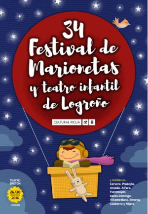 34 Festival de Marionetas y Teatro Infantil de Logroño