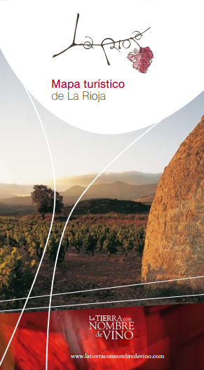 Map of La Rioja Brochure La Rioja Turismo