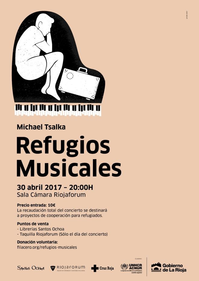 APLAZADO: MICHAEL TSALKA - 'REFUGIOS MUSICALES'