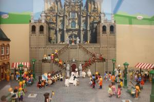 """Exposición """"Playmobil en El Camino"""""""