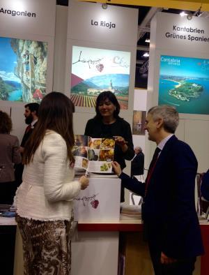 El Gobierno riojano promocionará la Comunidad como destino turístico en la feria ITB de Berlín, uno de los eventos turísticos más importantes del mundo