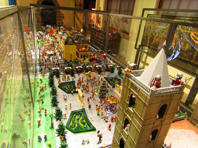 Exposición Belén Napolitano, Belén Playmóbil y Belén Mecánico