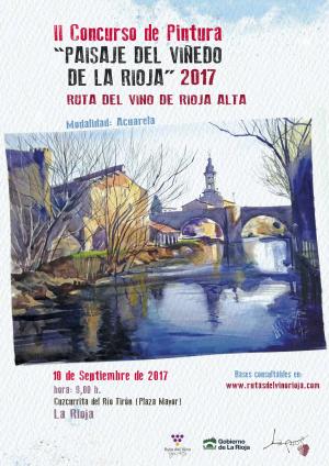 II Concurso de Pintura Paisaje del Viñedo de La Rioja 2017