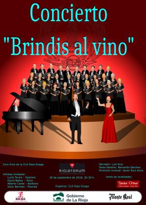 """Concierto Extraordinario """"Brindis al Vino"""""""