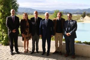 La Rioja y la red Great Wine Capitals estudian cauces de colaboración en materia de enoturismo