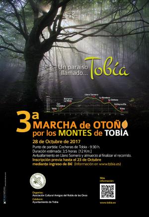 3ª Marcha de Otoño por los Montes de Tobía