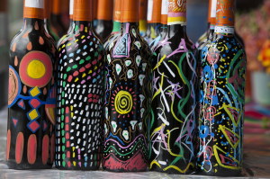 Taller de pintura en botella (& Regalo de la Botella pintada)