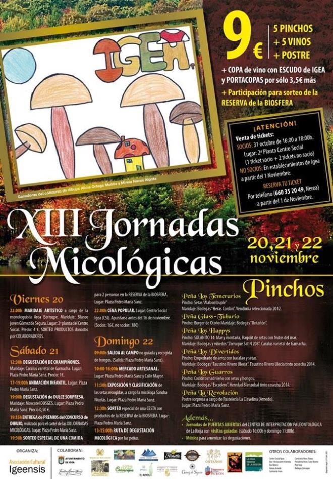 XIII Jornadas Micológicas de Igea