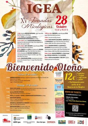 """""""Bienvenido Otoño"""" y XXV Jornadas Micológicas de Igea"""