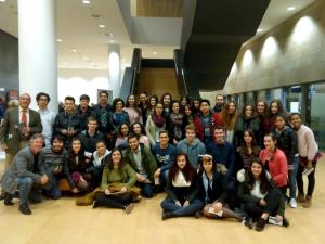 Asistencia del alumnado de 5º y 6º a los conciertos de clásica de Riojaforum