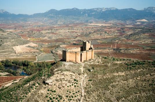 Castillo-fortaleza de Davalillo, en San Asensio