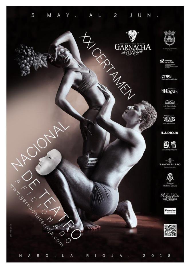 """XXI Certámen Nacional de Teatro """"Garnacha de Rioja"""". Sección Grupos Aficionados."""