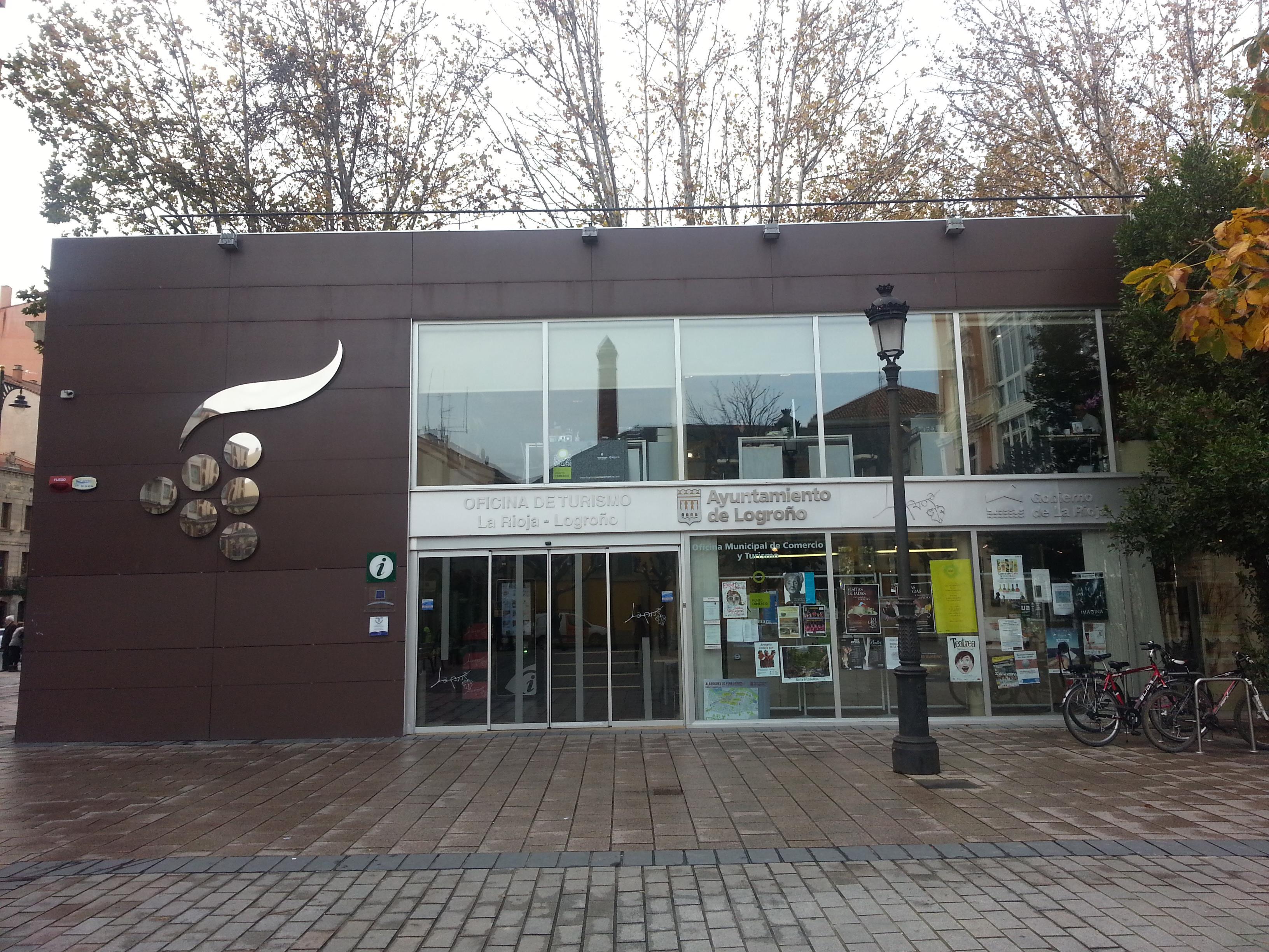 La oficina de turismo de la rioja abrir en horario for Horario oficina santa lucia