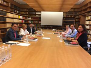 La Rioja, Galicia y Castilla y León sientan las bases para crear un programa de comunidades unidas por la ruta Jacobea que impulse acciones culturales