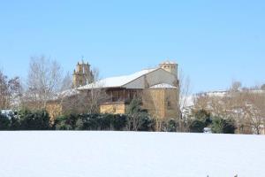 La temperatura de la piedra en invierno. El arco de medio punto en las Iglesias románicas de La Rioja Alta