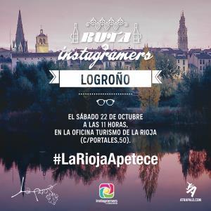 Ruta de Instagramers Logroño