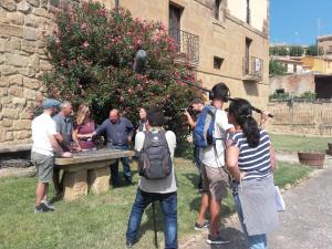 La serie internacional 'I love wine' empieza a rodar esta semana su capítulo en La Rioja
