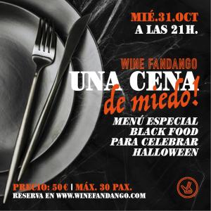 Una Cena de Miedo: Menú Especial Black Food