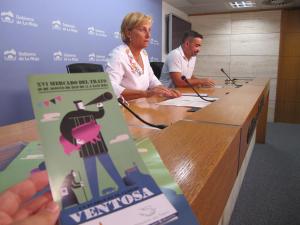 González Menorca anima a disfrutar el próximo domingo del Mercado del Trato de Ventosa, una original iniciativa con actividades para toda la familia