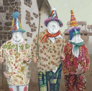 Exposición de pintura de Xubero