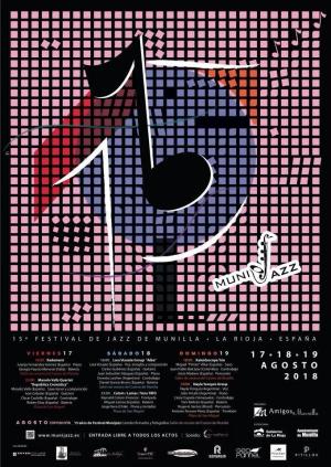 "XV Festival de Jazz de Munilla ""Munijazz"" 2018"""