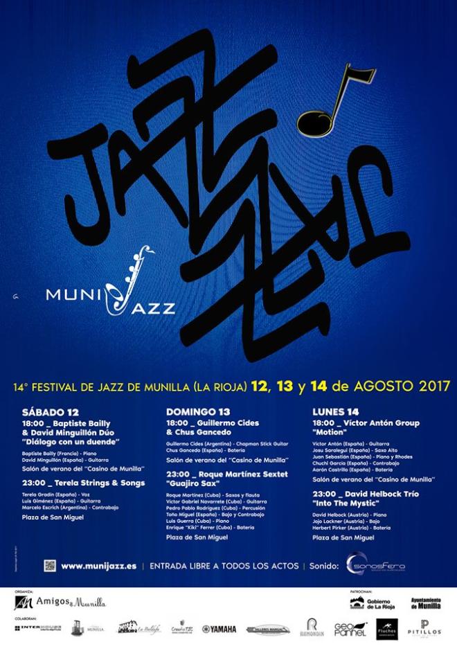 "XIV Festival de Jazz de Munilla ""Munijazz 2017"""