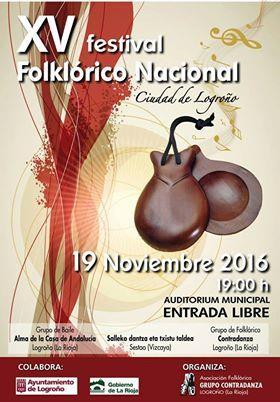 XV Festival Folklórico Nacional Ciudad de Logroño