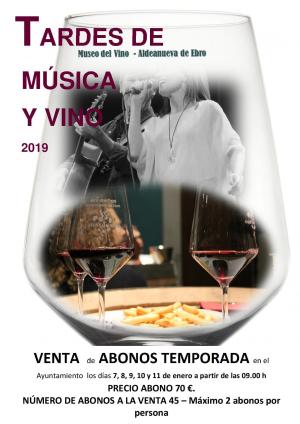 """""""Tardes de música y vino"""""""