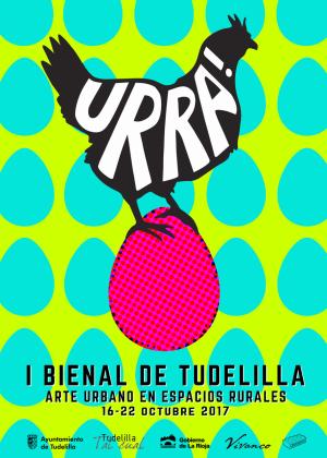 Primer bienal de Tudelilla. URRA!, arte URbano en espacios ruRAles