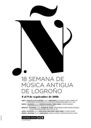 XVIII Semana de Música Antigua de Logroño