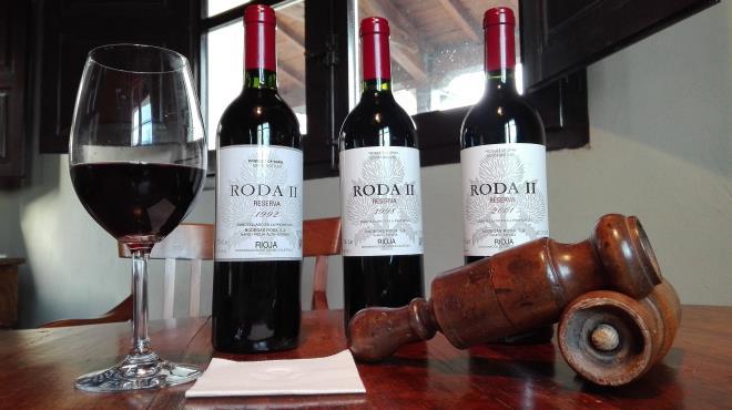 Luxury visit con cata de añadas históricas Roda