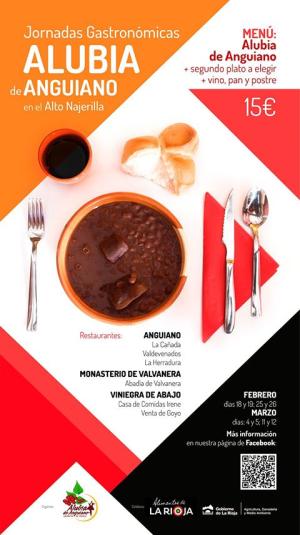 Jornadas Gastronómicas de la Alubia de Anguiano en Alto Najerilla
