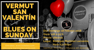 Vermú San Valentín, blues on Sunday