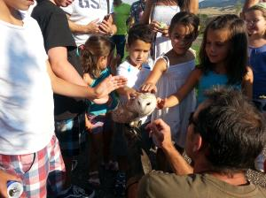 Visitas de verano en Riojanatura Parque Zoológico