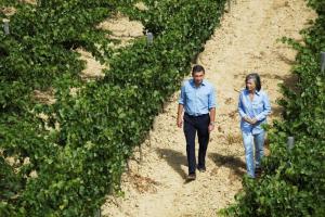 La belleza del paisaje caminando en La Rioja Alta