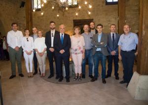 """Ceniceros señala que el Palacio de Casafuerte se ha convertido """"en uno de los recursos turísticos más atractivos de la Rioja Alta"""""""