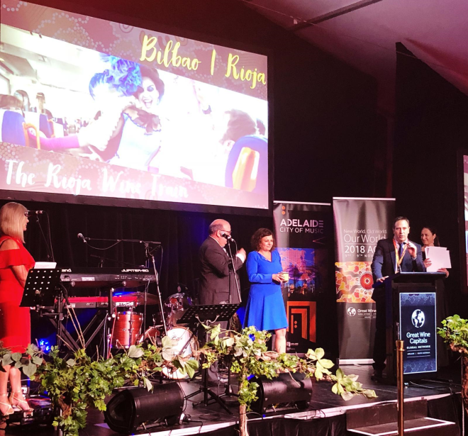 El Tren del Vino Premio Best Of Wine Tourism internacional