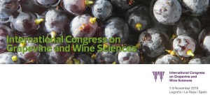 1º INTERNATIONAL CONGRESS ON GRAPEVINE AND WINE SCIENCES