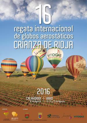 XVI Regata Internacional de Globos Crianza de Rioja
