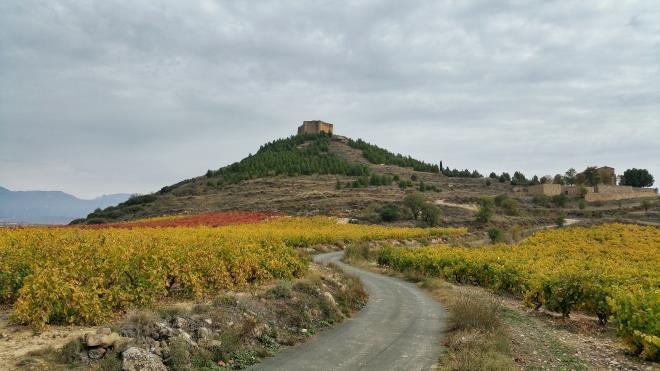 Paisajes de Rioja en otoño