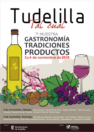 4ª Muestra: Gastronomía, tradiciones y productos. Tudelilla, tal cual.