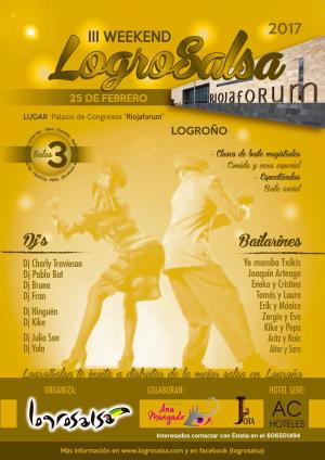 III WEEKEND LOGROSALSA