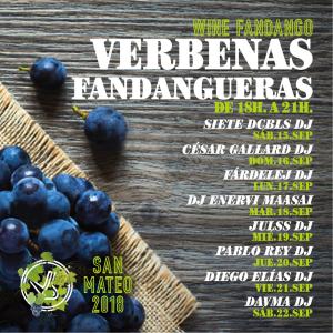Verbenas Fandangueras San Mateo 2018