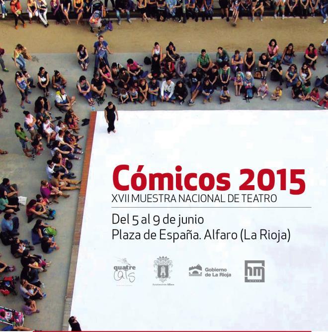 XVII MUESTRA NACIONAL DE TEATRO CÓMICOS 2015