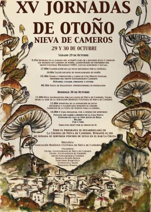 XV Jornadas de otoño de Nieva de Cameros