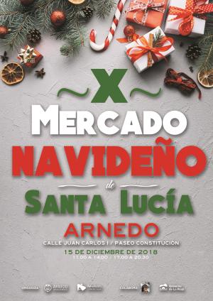 X Mercado Navideño y Hogueras de Santa Lucía