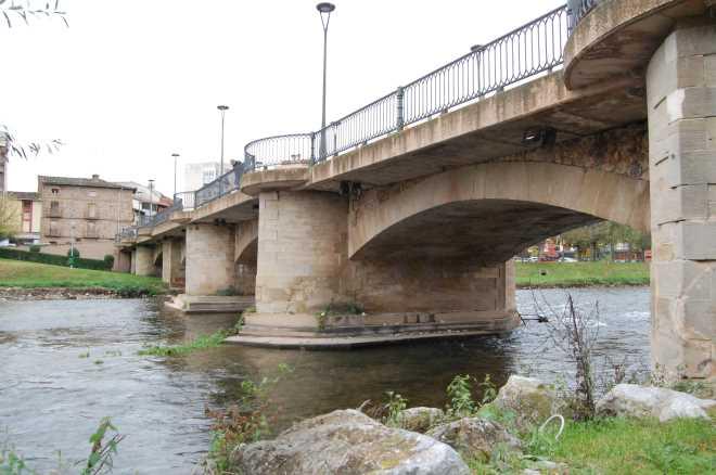 Puente sobre el Najerilla en Nájera