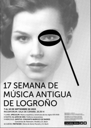 17 SEMANA DE MÚSICA ANTIGUA DE LOGROÑO